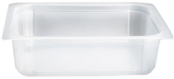 Contenitori Vaschette Caseario Termosaldabili - Confezioni In Pp - 1/8 Gastronorm H40 - Pz 1060 - C40