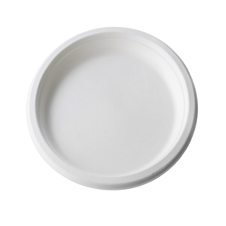 Piatti monouso in polpa di cellulosa - PZ 50