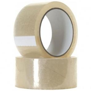 Nastro adesivo scotch trasparente per imballaggio e traslochi - 6 rotoli