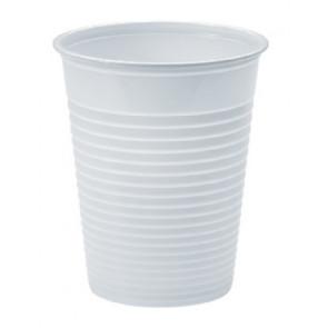 Bicchieri monouso in plastica bianchi - 200 cc - Pz 500