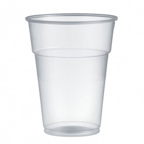 Bicchieri monouso in plastica trasparenti - 355 cc - Pz 480