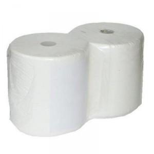 Rotoloni carta asciugatutto per alimenti due veli professionale bobine industriali ovatta di cellulosa - Confezione da 2 rotoli