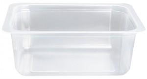 Contenitori Vaschette Caseario Termosaldabili - Confezioni in Pp - 1/8 Gastronorm H53 - Pz 15360 - C50