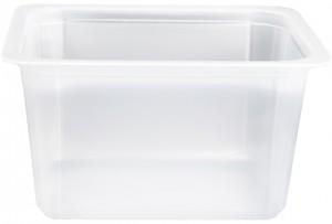 Contenitori Vaschette Caseario Termosaldabili - Confezioni in Pp - 1/8 Gastronorm H80 - Pz 14720 - C80