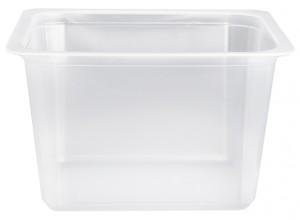 Contenitori Vaschette Caseario Termosaldabili - Confezioni In Pp - 1/8 Gastronorm H90 - Pz 900 - C90