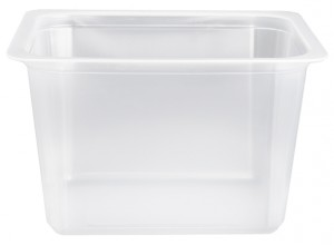 Contenitori Vaschette Caseario Termosaldabili - Confezioni in Pp - 1/8 Gastronorm H90 - Pz 14400 - C90