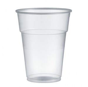 Bicchieri monouso in plastica trasparenti - 630 cc - Pz 400