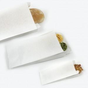 Sacchetti di carta bianco per alimenti cm 14x28 - Kg 10