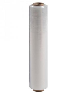 Film estensibile manuale trasparente per imballaggio e traslochi - 1 bobina da kg 2,4